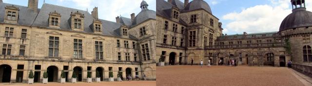 Hautefort Courtyard
