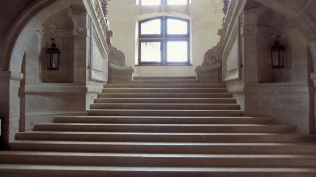 Château de Hautefort Staircase