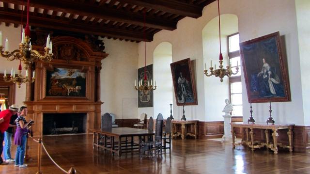 Château de Hautefort Fireplace Room