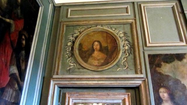 Château de Hautefort Dining Room Painting