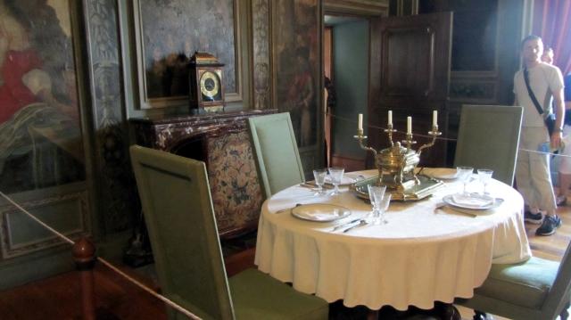 Château de Hautefort Dining Room