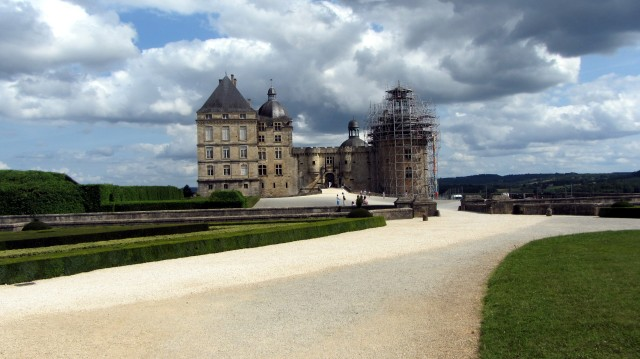 Château de Hautefort Courtyard