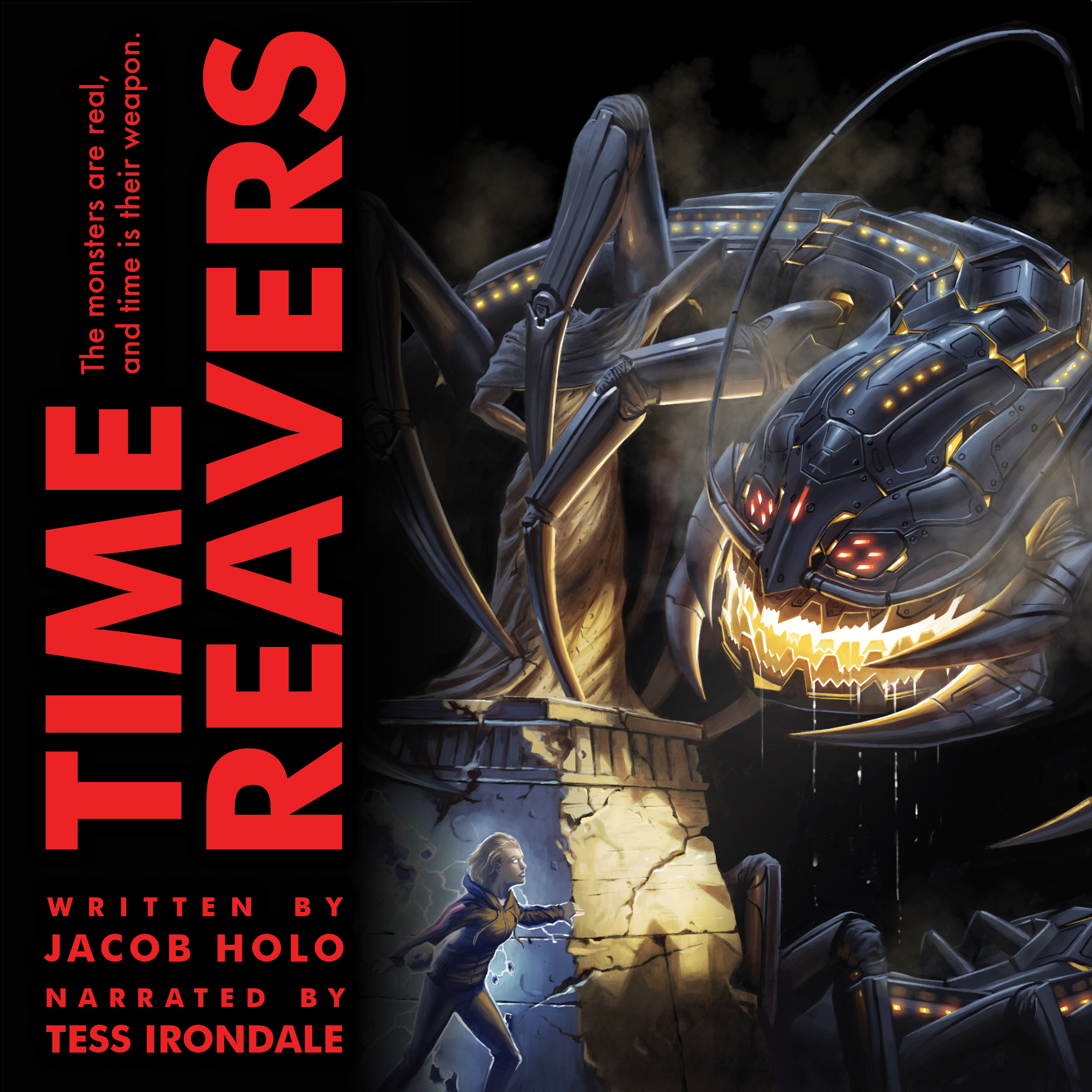 Time Reavers Audiobook Cover